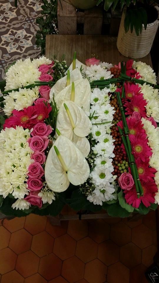 deuil enterrement valenciennes fleurs fleuriste hé fleur et moi le Quesnoy Saint amant Denain