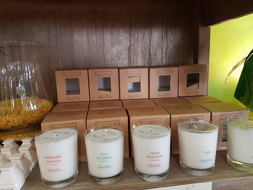 Valenciennes bougie parfumée et parfum d'intérieur