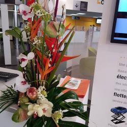 fleuriste Valenciennes Hé fleur et moi service abonnement pro composition