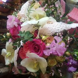 Bouquet de mariée by Hé fleur et moi fleuriste Valenciennes