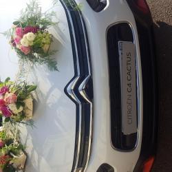 Voiture mariage fleuriste Valenciennes Hé fleur et moi la Sentinelle anzin nord Hainaut Denain Le quesnoy