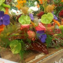 Mariage exotique Valenciennes fleuriste hé fleur et moi bouquet de mariée Hainaut Denain Le quesnoy la sentinelle valenciennois petite foret Anzin