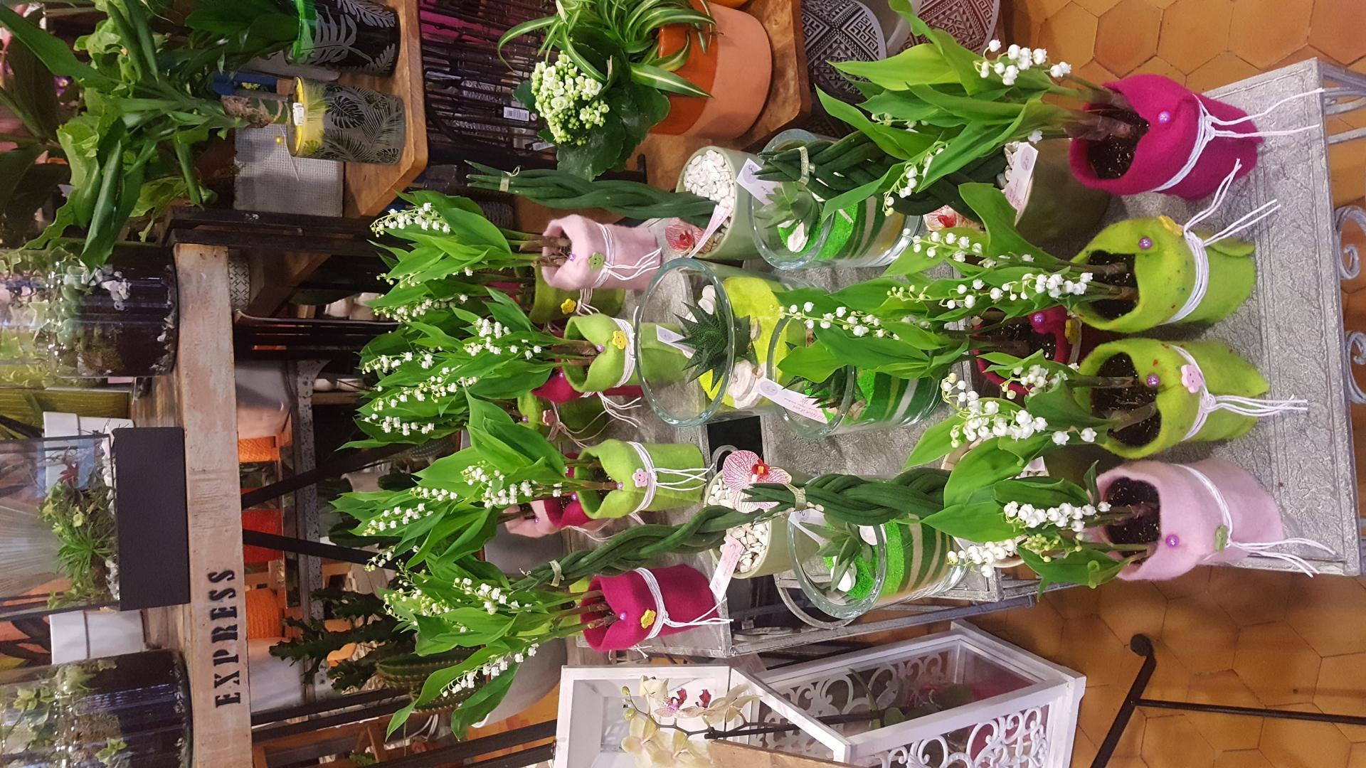 1er mai et muguet by Hé fleur et moi fleuriste valenciennes