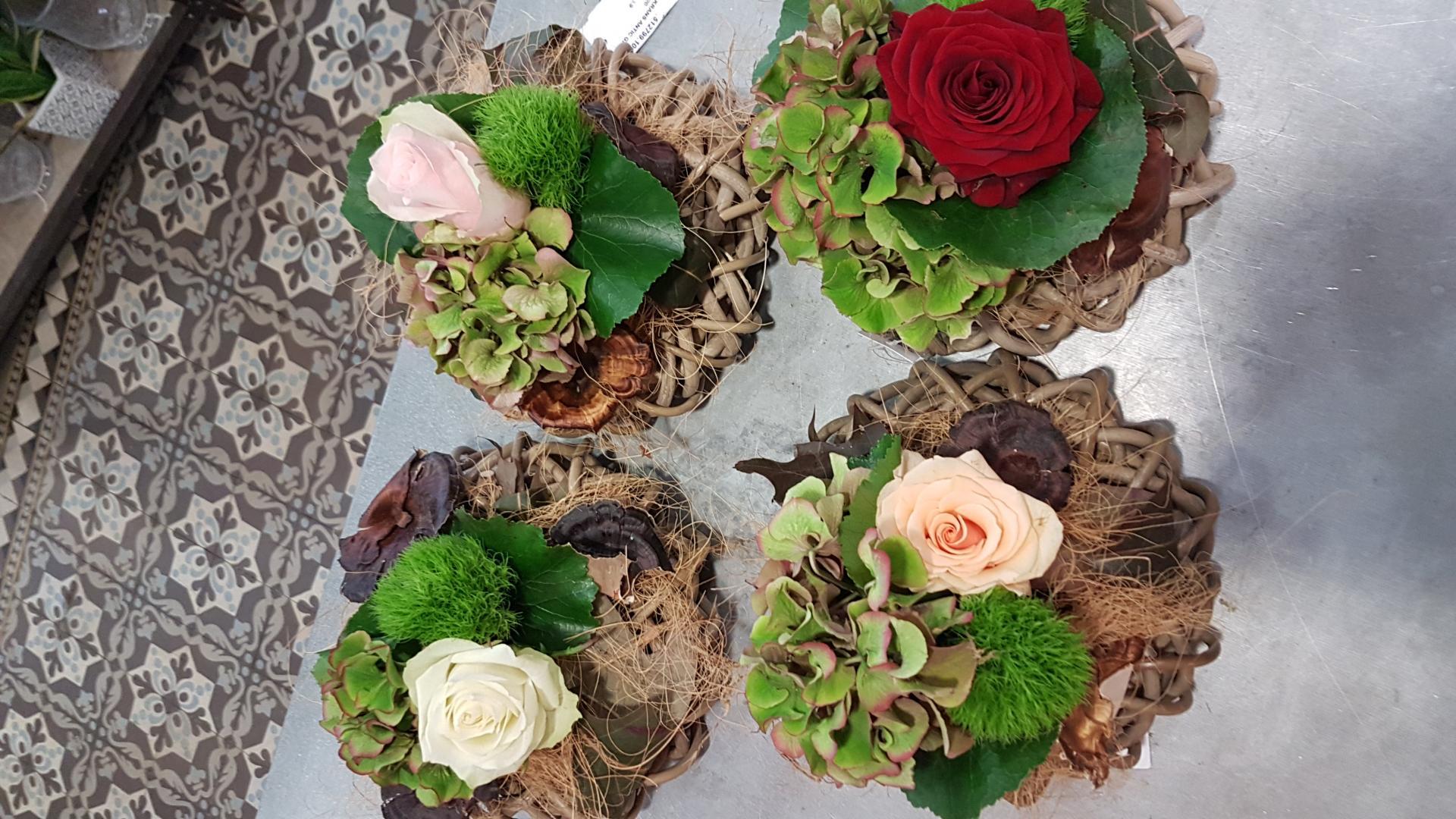 Composition de fleurs by hé fleur et moi fleuriste de