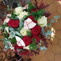 Bouquet fleuriste de Valenciennes bouquet hé fleur et moi fleuriste de Valenciennes noces de porcelaine