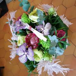 Le bouquet du week-end special Nouvel an chinois chez hé fleur et moi fleuriste de Valenciennes  #fleuriste #valenciennes #hefleuretmoi #nouvelanchinois #anzin #lasentinelle #haina