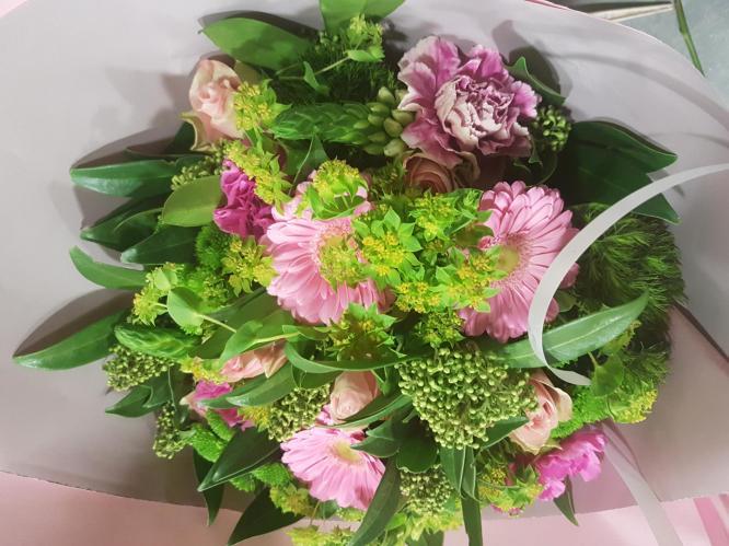 Bouquet de fleurs  anniversaire, remerciements, naissance La Sentinelle Anzin Marly fleuriste