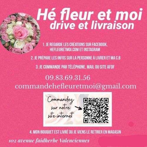 Drive et livraison de fleurs à La Sentinelle