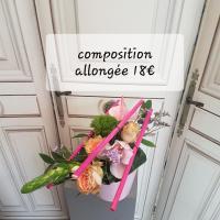 Composition fleuriste valenciennes