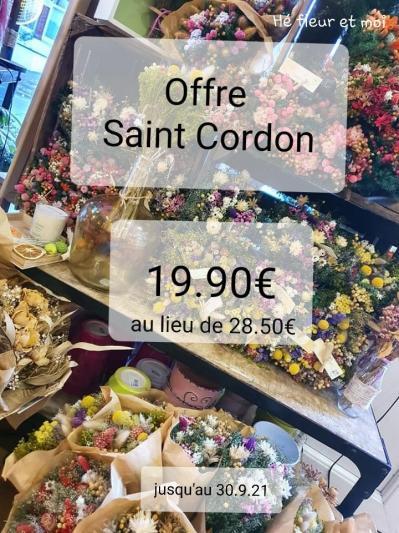 Bouquet fleurs sèchées  Valenciennes