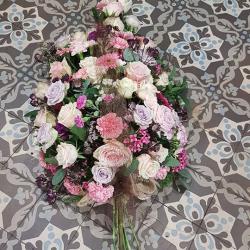Gerbe deuil  Hé fleur et moi fleuriste Valenciennes
