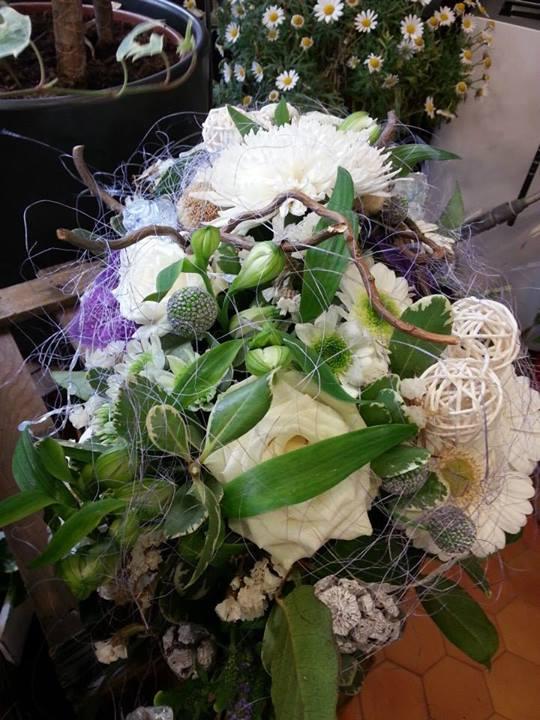 Mariage valenciennes bouquet de mariée décor de table