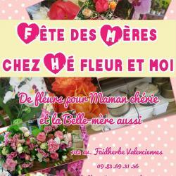 Hé fleur et moi fleuriste fête des mères de Valenciennes