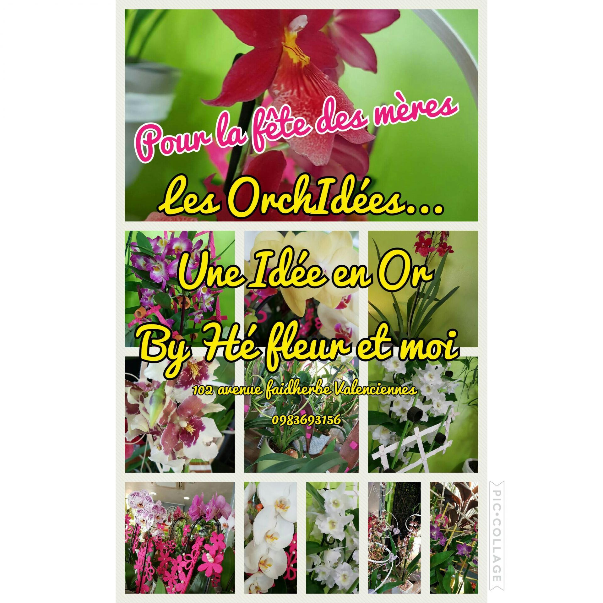 Fête des mères by Hé fleur et moi fleuriste valenciennes bouquet fleur