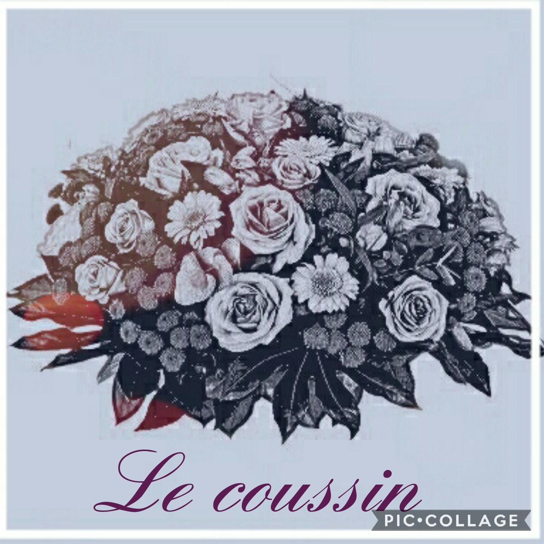 Coussin deuil Hé fleur et moi fleuriste Valenciennes