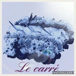 Carré deuil Hé fleur et moi fleuriste Valenciennes