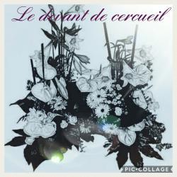 Devant de cercueil Hé fleur et moi fleuriste Valenciennes