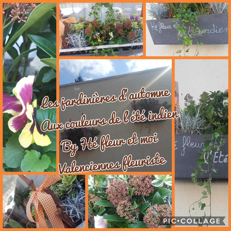Jardin et fleur jardinières Hé fleur et moi fleuriste valenciennes