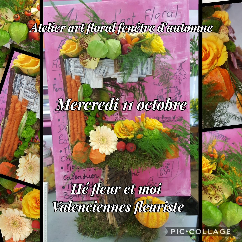 Art floral automne valenciennes Hé fleur et moi fleuriste