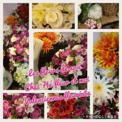 Pour la Toussaint votre artisan-fleuriste de Valenciennes Hé fleur et moi vous propose des bouquets de fleurs de soie. Un moyen de fleurir vos chers disparus #toussaint #fleurs #fl