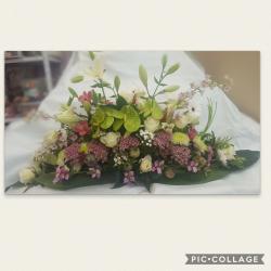 Raquette deuil by hé fleur et moi fleuriste de Valenciennes