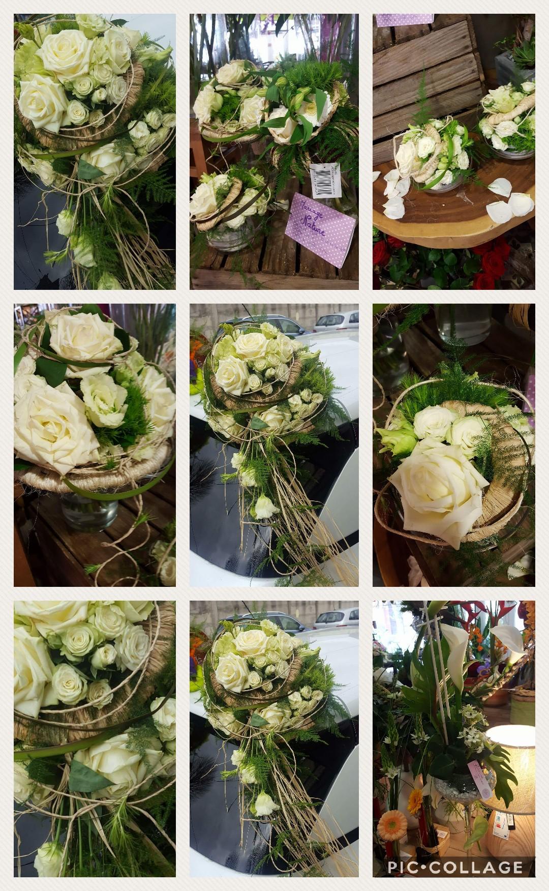 Mariage champêtre by hé fleur et moi fleuriste de Valenciennes bouquet