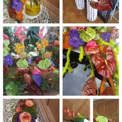 Mariage exotique by hé fleur et moi fleuriste de Valenciennes bouquet