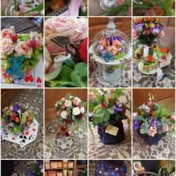 Mariage Alice au pays des merveilles by hé fleur et moi fleuriste de Valenciennes bouquet