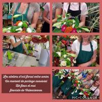 Les ateliers d'art floral chez hé fleur et moi fleuriste de Valenciennes des moments sympathiques, ludiques et floraux... chez votre artisan fleuriste #Valenciennes #enterrementdeviedejeunefille  #atelier #artfloral #laSentinelle #cours #fleuriste #fleur  #loisirscreatifs #anzin @hefleuretmoi