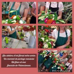 Les ateliers d'art floral chez hé fleur et moi fleuriste de Valenciennes des moments sympathiques, ludiques et floraux... chez votre artisan fleuriste #Valenciennes #enterrementdev