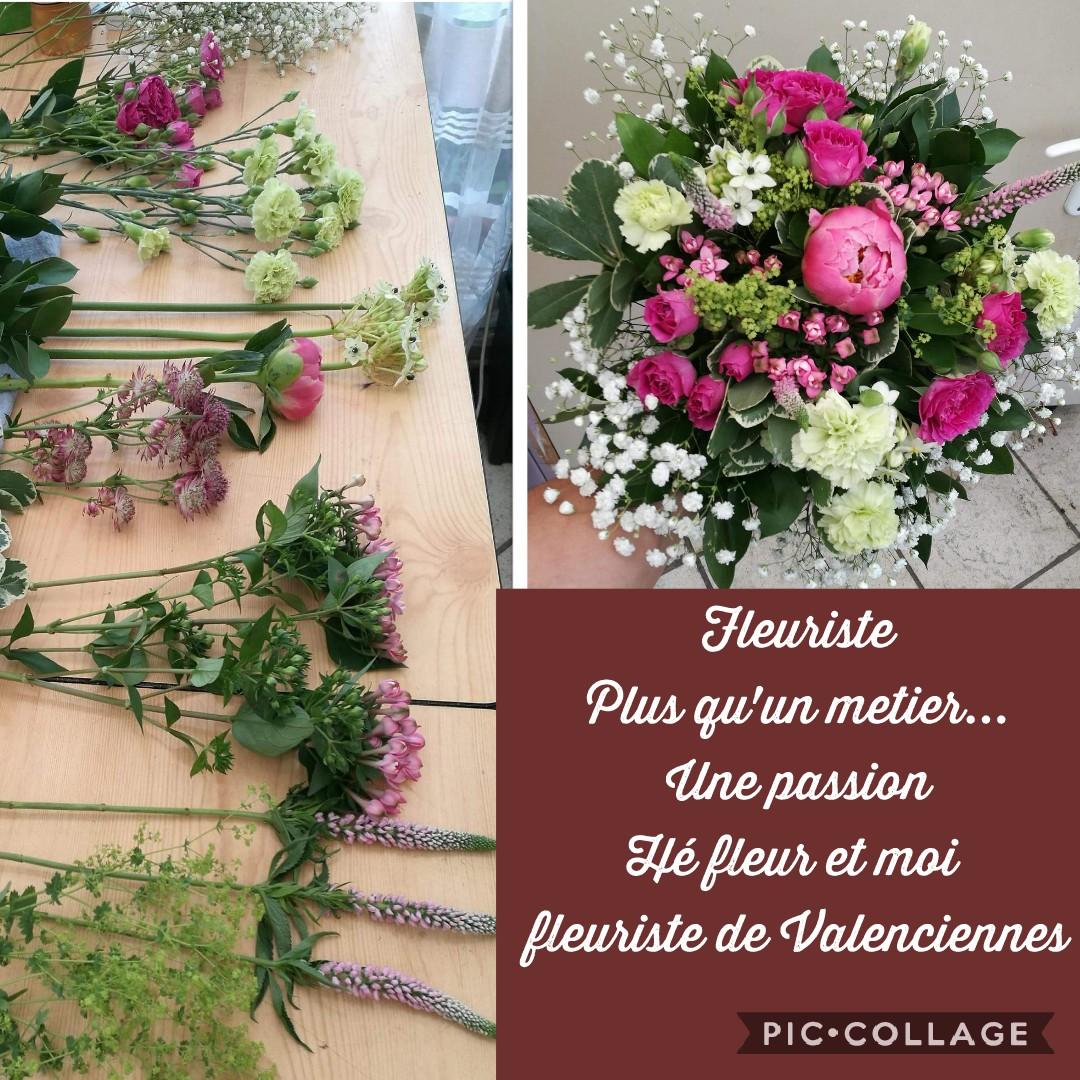 Fleuriste à Valenciennes plus qu'un métier une passion pour votre artisan fleuriste Hé fleur et moi fleuriste de Valenciennes