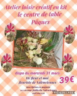 Art floral Valenciennes paques