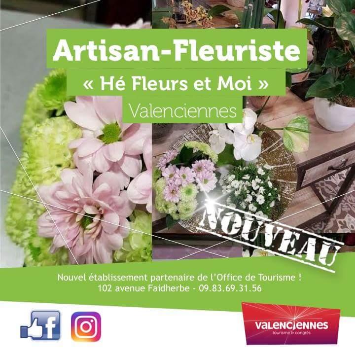 Partenariat hé fleur et moi office de tourisme de valenciennes