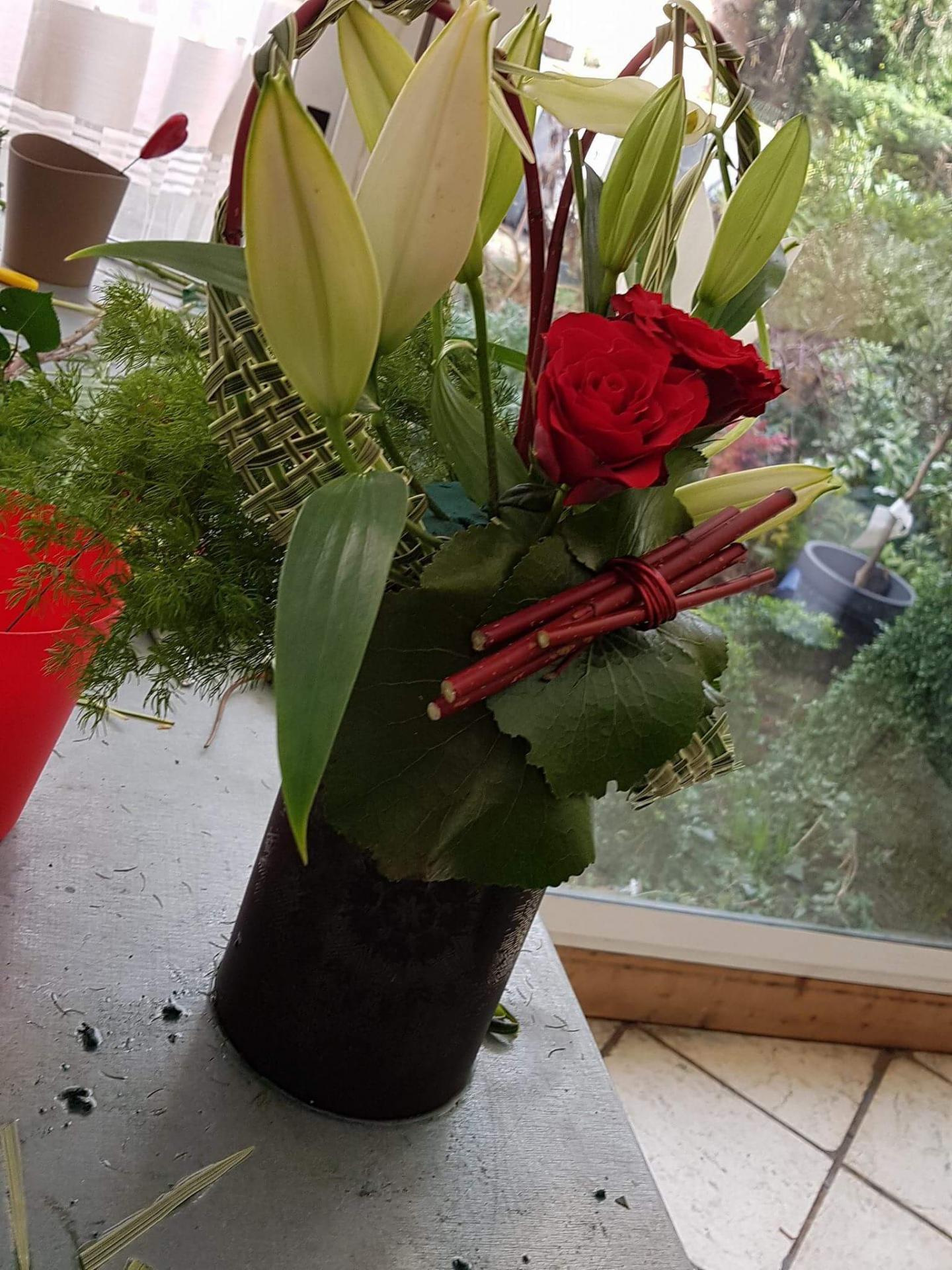 Cours art floral hé fleur et moi Valenciennes fleuriste Valenciennes hainaut nord