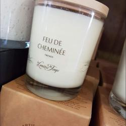 Bougie parfumée Lumières du temps Hé fleur et moi fleuriste de Valenciennes