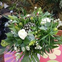 Bouquet de fleurs bohème chic 30€ Hé fleur et moi fleuriste de Valenciennes