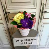 Composition de fleurs Hé fleur et moi fleuriste de Valenciennes