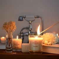 Les bougies parfumées lumières du temps Valenciennes Hé fleur et moi fleuriste