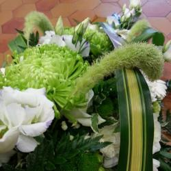 Gerbe vert et blanc 3