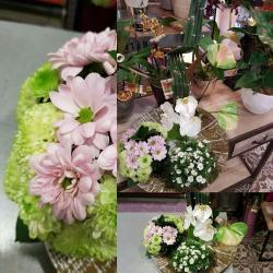 Art floral valenciennes fleurs fleuriste  Ikebana Hé fleur et moi