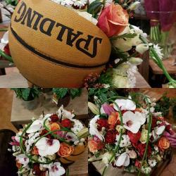 Deuil Dernier hommage coussin basket moderne by Hé fleur et moi #fleuriste #valenciennes #phalenopsis #deuil #fleur #dernierhommage #lequesnoy #saintamand #denain