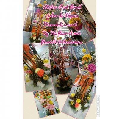 Atelier d'art floral Arbre de Pâques Mercredi 5 avril by Hé fleur et moi fleuriste valenciennes