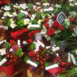 Saint Valentin 14 février 2018 fleuriste nord valenciennes rose amour bouquet hé fleur et moi