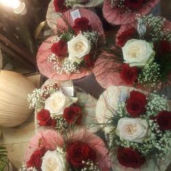 Saint Valentin 14 février 2018 fleuriste valenciennes rose parfumée nord amour bouquet hé fleur et moi