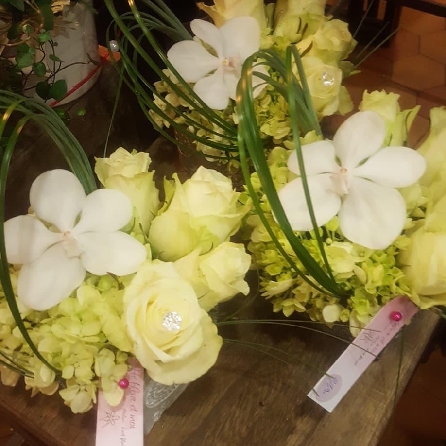 Saint Valentin 14 février 2018 fleuristeSa nord  valenciennes rose amour bouquet hé fleur et moi