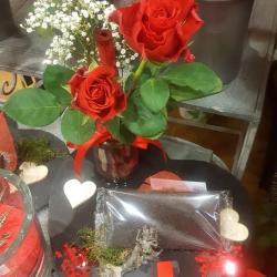 Saint Valentin 14 février 2019 fleuriste valenciennes nord rose amour bouquet hé fleur et moi