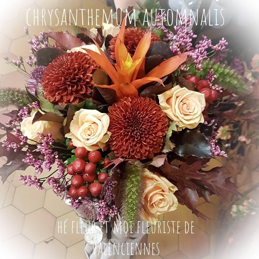 Bouquet fleuriste de Valenciennes bouquet hé fleur et moi fleuriste de Valenciennes