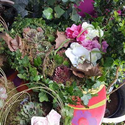 Toussaint Hé fleur et moi Valenciennes fleuriste jardin de plantes coeur