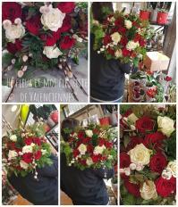 Le bouquet de roses rouges Valenciennes Fleuriste Hé Fleur et moi