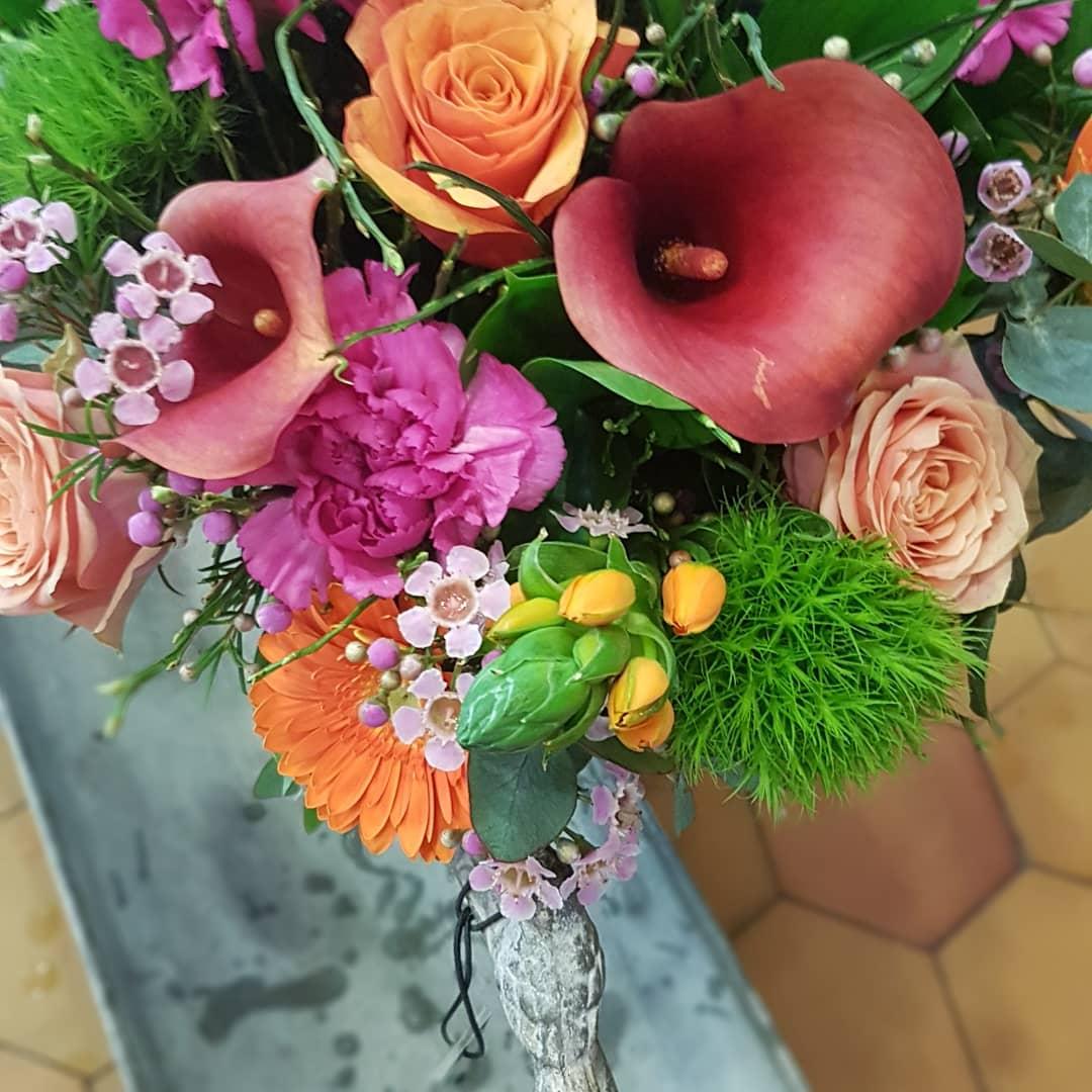 Le bouquet du moment chez hé fleur et moi fleuriste de Valenciennes